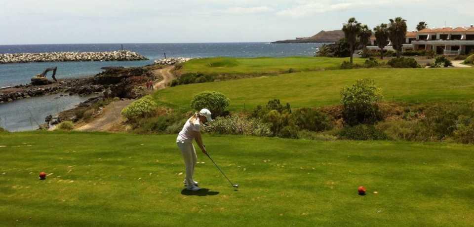 Golf Amarilla à Tenerife en Espagne