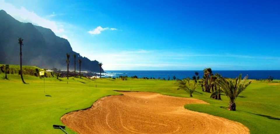 Golf Meloneras à Gran Canaria, île des Canaries en Espagne