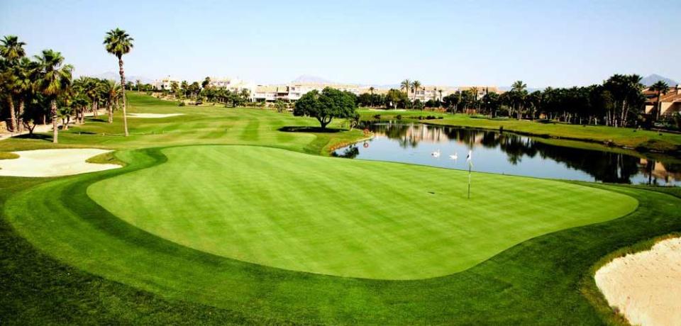 Golf à Alicante, Valence en Espagne