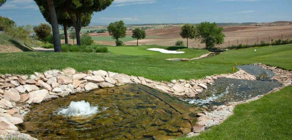 Golfs à Madrid en Espagne