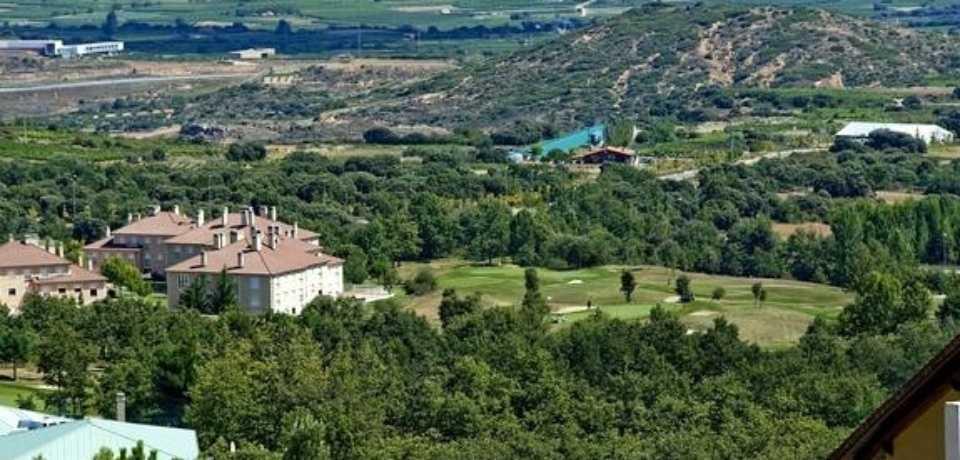 GolfSojuela à la Rioja en Espagne