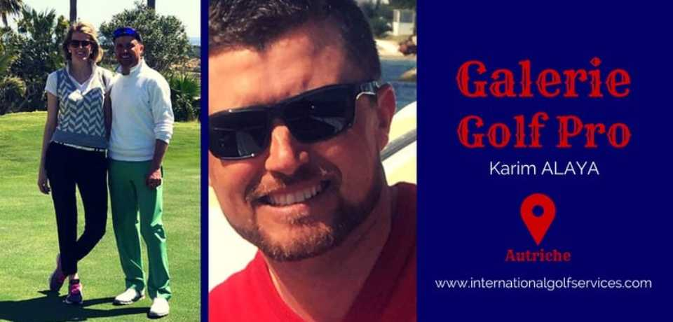 Galerie Golf Pro Karim ALAYA PGA Tunisie