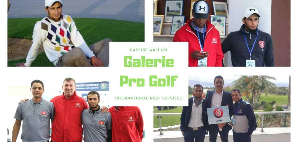 Galerie Pro de Golf Hassine WALLANI PGA Tunisie