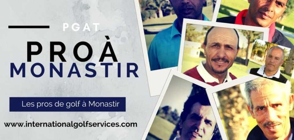 Les Pros de Golf à Monastir