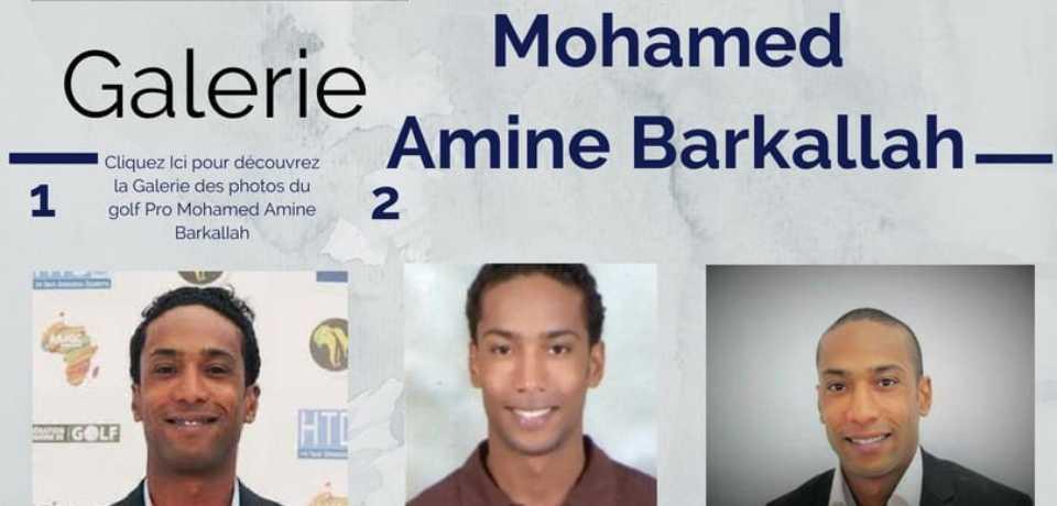 Galerie Golf Pro Mohamed Amine BARKALLAH PGA Tunisie