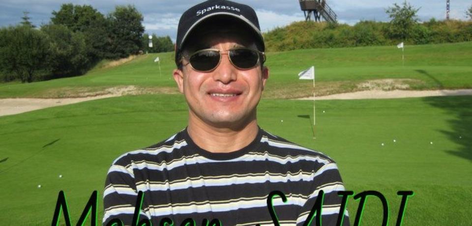CV Pro de Golf Mohsen SAIDI