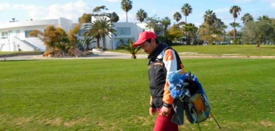Moniteur fédéral de golf Hedi BRINI