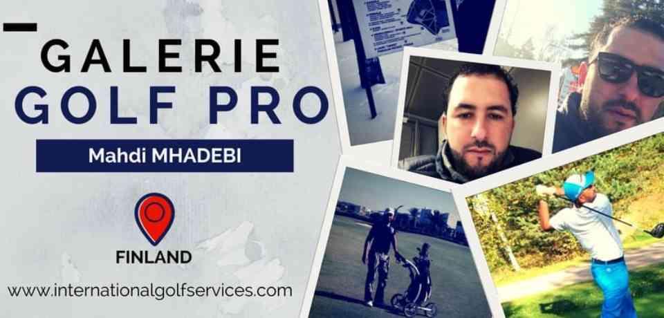Galerie Golf Pro Tunisien Mahdi MHADHEBI