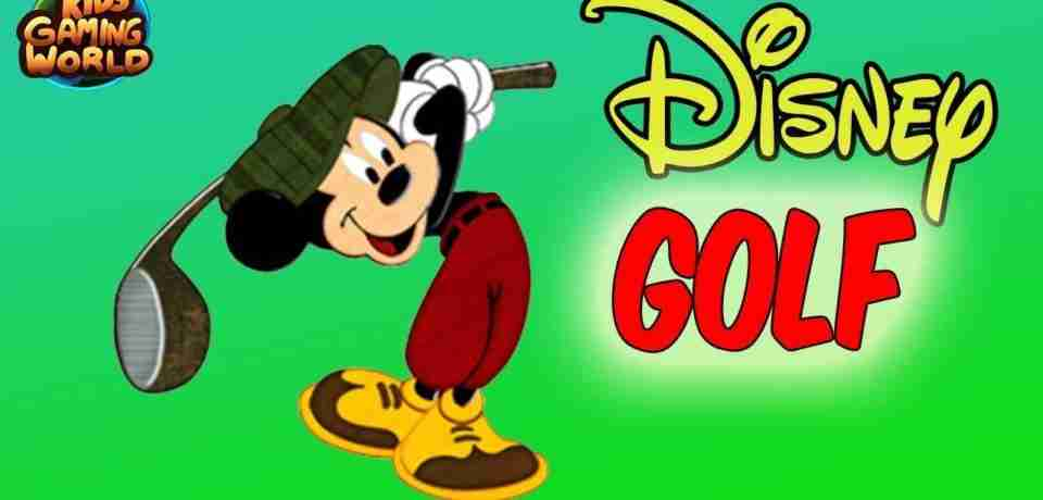 Jouer Golf avec Mickey Mouse