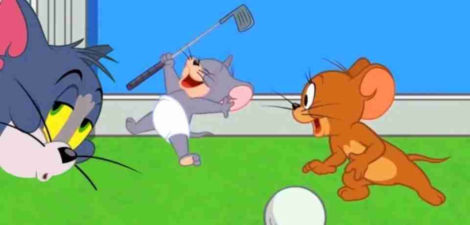 Golf with Tom & Jerry