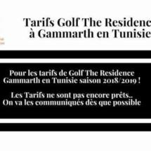 Golf The Residence Gammarth