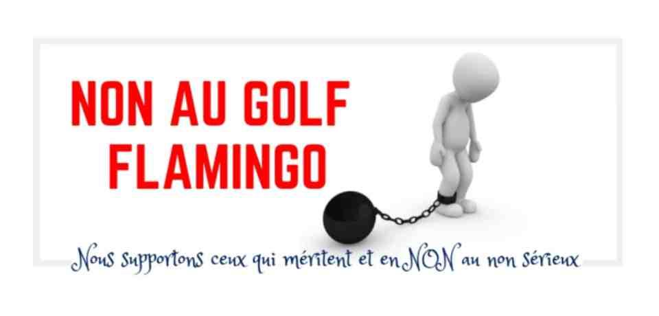 NON au Flamingo Golf Course en Tunisie
