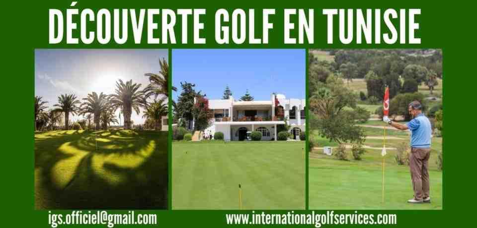 Découverte golf en Tunisie