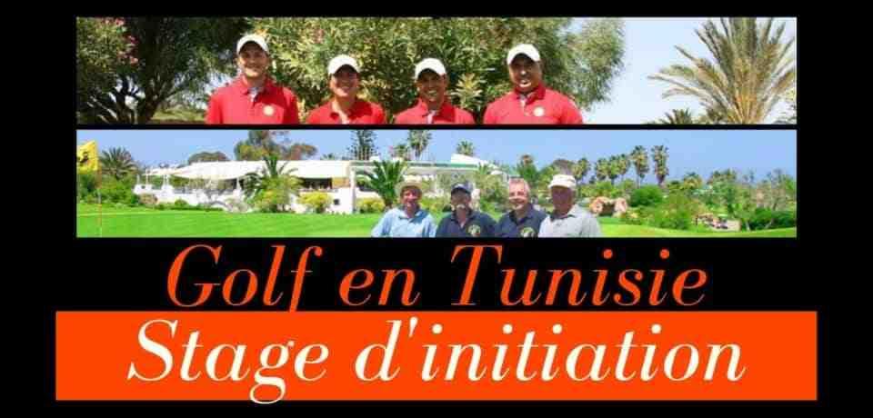 Stage d'initiation de golf en Tunisie