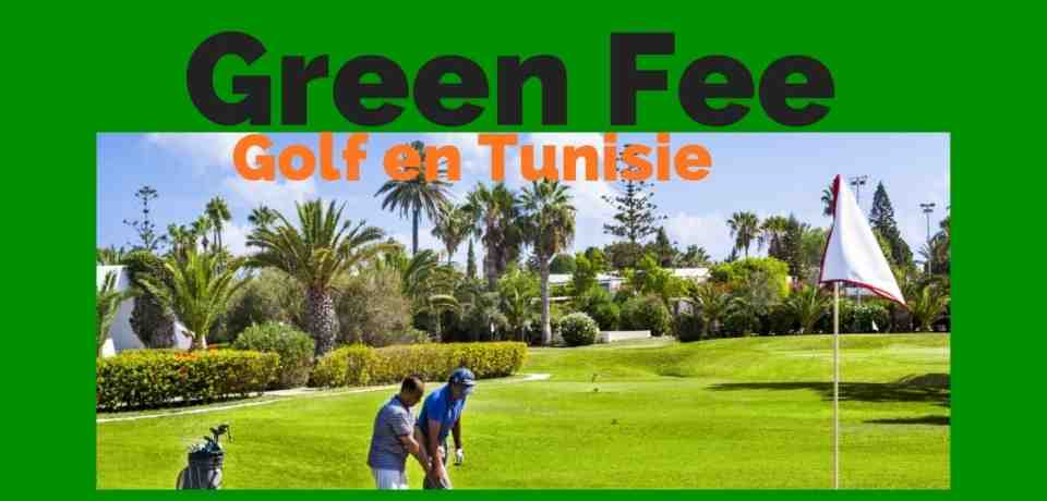Green Fee de golf en Tunisie