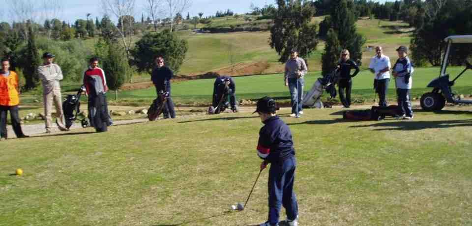 5 jours de cours avancés de golf en Tunisie