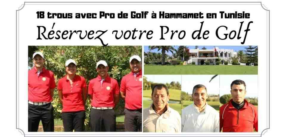 18 Trous avec un Pro à Hammamet en Tunisie