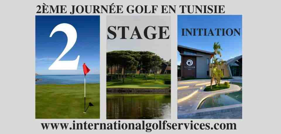 2 jours stage d'initiation de golf en Tunisie