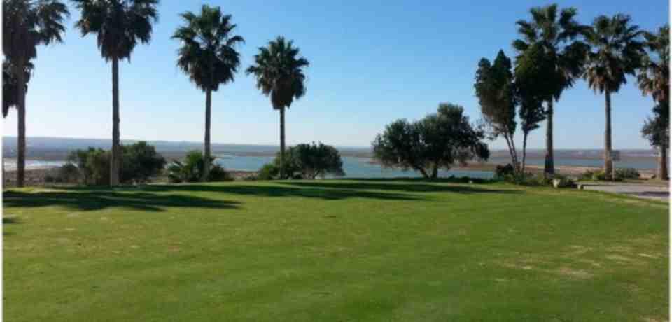 Golf à la ville de Monastir en Tunisie