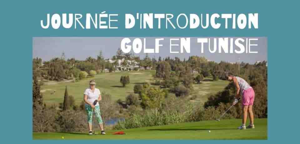 1 journée de cours d'introduction de golf en Tunisie
