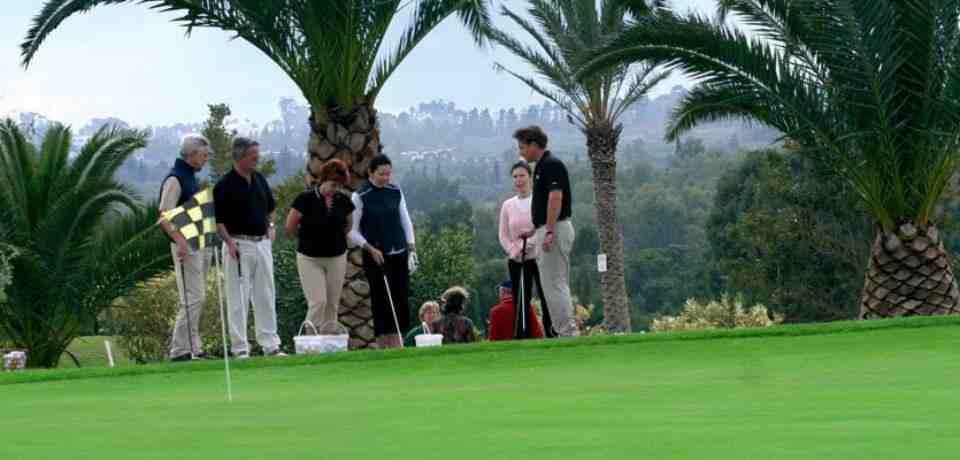 18 trous avec un Pro de golf en Tunisie
