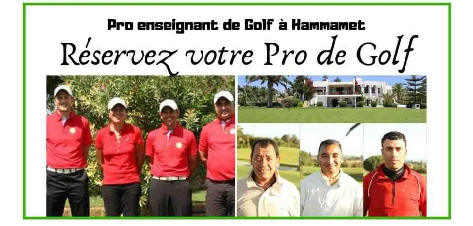 Parcours de Golf accompagné à Hammamet